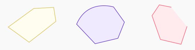 polygon and non-polygon