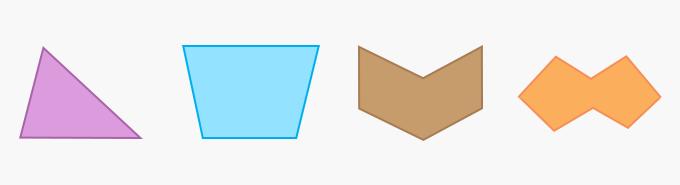 Irregular Polygons Geometry Two-Dimensional 2D shape