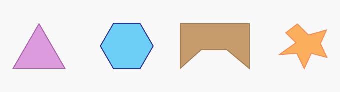 Polygon Geometry Two-Dimensional 2D shape