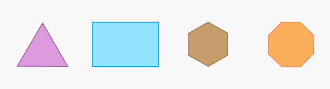 Regular Polygons Geometry Two-Dimensional 2D shape