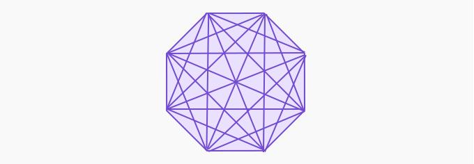 diagonal octagon