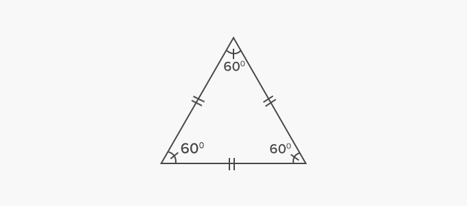 Equilateral Triangle all side equal congruent