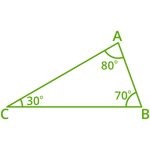 Non-examples of obtuse triangles 2