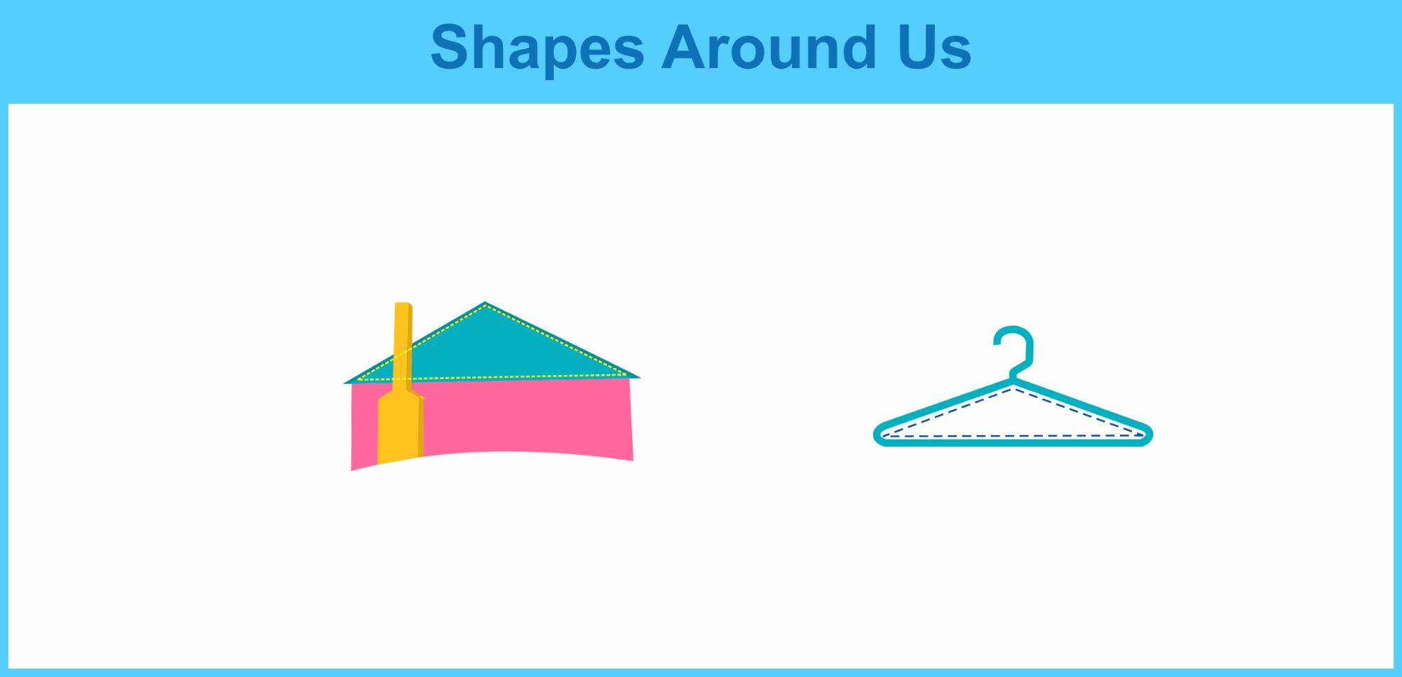 obtuse triangle shapes around us