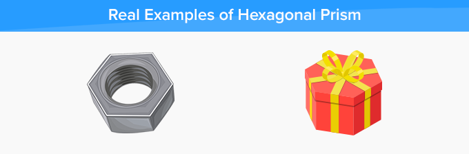 real life example of hexagonal prism