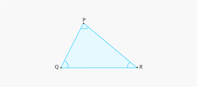 Triangle properties angle sides