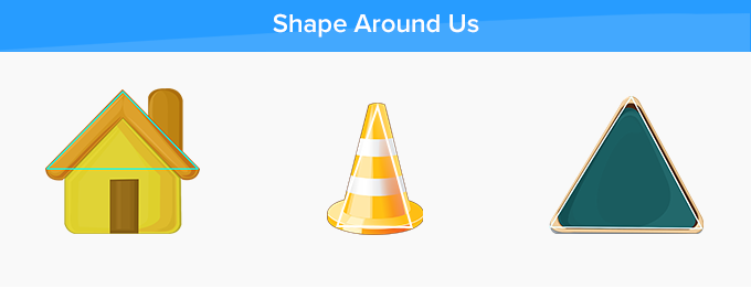 acute triangle around us