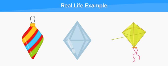 rhombus real life example