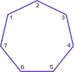 angles of heptagon
