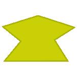 irregular heptagon