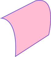 curved surface