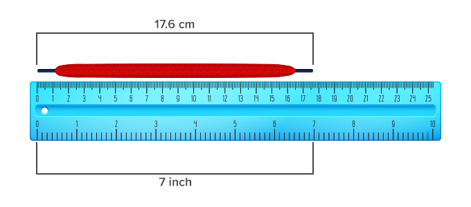 How to measure length of an object using a ruler