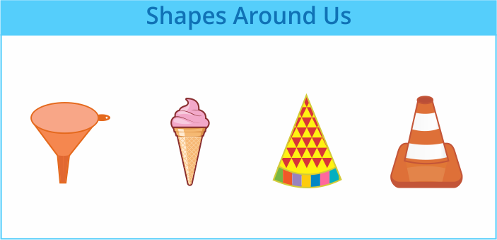 cone shapes around us