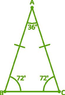 isosceles triangle example 1