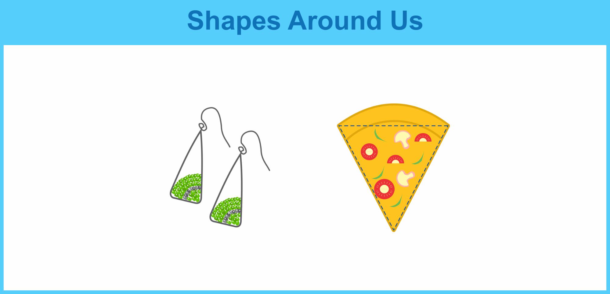 isosceles triangle shapes around us