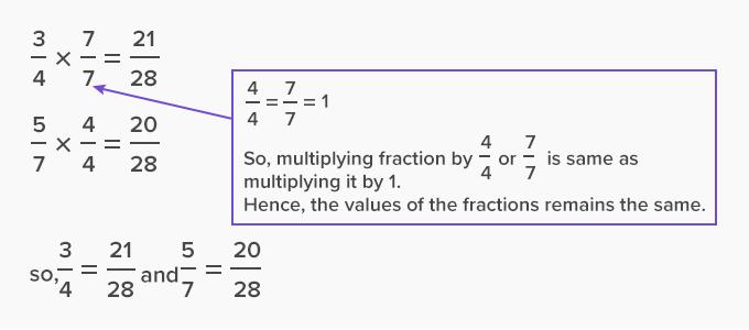 Multiply the numerator and denominator