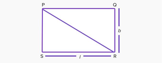 diagonal rectangle