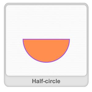 Half-circle Worksheet