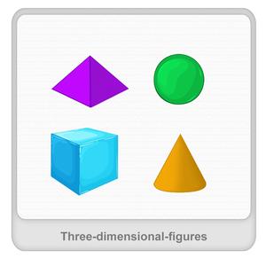 Three-dimensional figures Worksheet