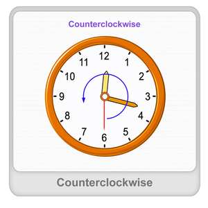 Counterclockwise Worksheet