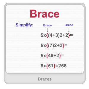 Braces Worksheet