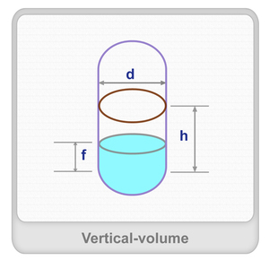 Vertical volume (liquid) Worksheet