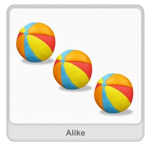 Alike Worksheet