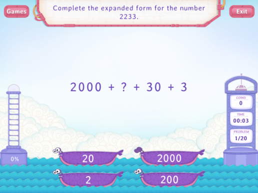 Convert Between Expanded And Word Forms Practice With Fun Math