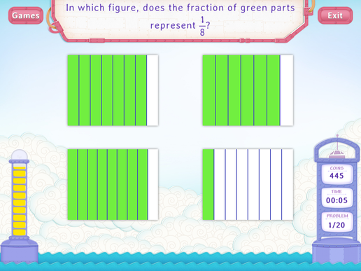 Identify Fractions Worksheets Third Grade Math – Common Core Fractions Worksheets