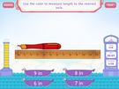 Measuring length - customary units