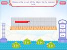 Measure length - customary units