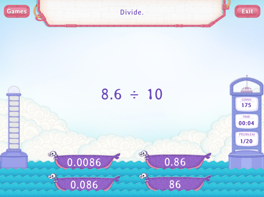 Divide Decimals by a Multiple of 10 Worksheets 5th Grade Math – Multiplying and Dividing Decimals by Powers of 10 Worksheet