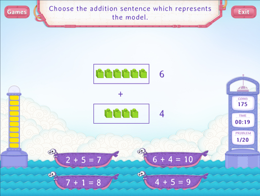 Addition Sentences within 20 Worksheets First Grade Math – Math Sentences Worksheets