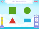 Identify two dimensional shapes