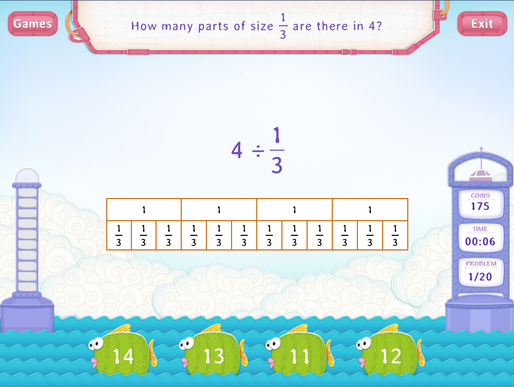 ... Whole by a Unit Fraction Worksheets - 5th Grade Math | Splash Math