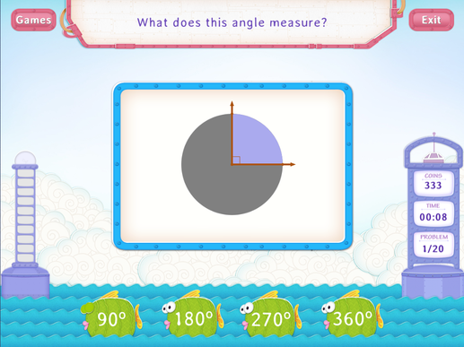 Measure Angles Practice With Fun Math Worksheet