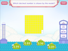 Decimals and fractions - hundredths